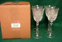 Noritake HAMPTON HALL Wine Glasses SET of FOUR More Items Available MINT IN BOX