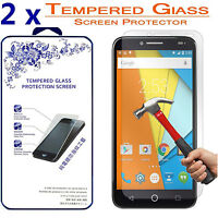 2x For Alcatel One touch Fierce XL Premium Tempered Glass Screen Protector