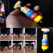 Halloween Funny Wooden Magic Toy Immortal Daruma Automatic Assemble Kids Toys