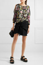 BNWT 3.1 Phillip Lim Meadow Floral Silk Cold Shoulder Top Size 2 [$495]