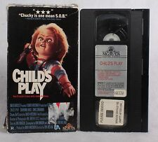 Rare Vintage Chucky Child's Play VHS 1988 Cult Classic Horror