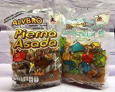 Alvbro Mexican Candy Lollipops 2 Pack - Pierna Asada + Pollito Asada 80 Pieces