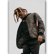 0980D New Denzel Curry Custom Rap Hip Hop Music Singer-Print Art Silk Poster