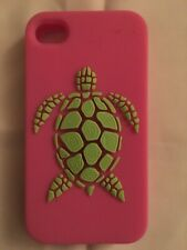 Kenny Dana iPhone 4/4s Green Turtle Pink Case