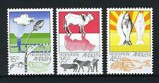 NL. ANTILLEN 522/524 MNH** 1976 - Landbouw, veeteelt en visserij.