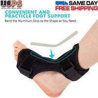 Ankle Corrector Foot Drop Orthotic Brace Correction For Day and Night Time Use