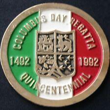 Miami Columbus Day Regatta Quincentennial Medal 1992