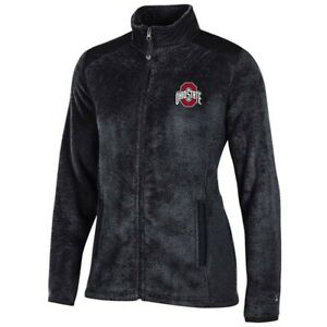 Ohio State Buckeyes NCAA Full Zip Women's Team Logo Flurry Jacket by Champion
