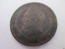 FRANCE PIECE DE MONNAIE ANCIENNE 10 CENTIMES 1855 WA