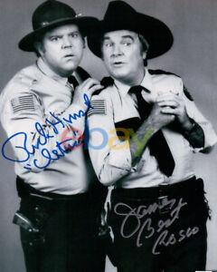 James Best Rick Hurst Dual Signed Autographed 8X10 Photo The Dukes of Hazzard re