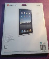 Griffin FlexGrip Silicone de protection Coque/étui Ipad Gen-1 blanc-Neuf