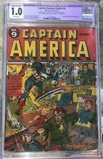 Captain America Comics #9 (1941) CGC 1.0 -- Simon & Kirby Black Talon - restored