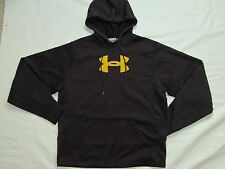 MENS JACKET HOODIE = UNDER ARMOUR = SIZE small = black sports sweater = me72