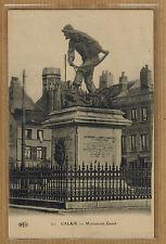 Cpa Calais - monument Gavet wn0169