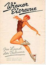 """Wiener Eisrevue - Programmheft """"Im Land der Träume"""" ca. 1959 - B2839"""