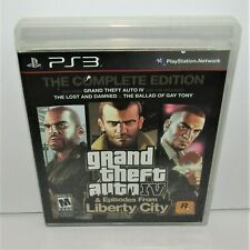 Grand Theft Auto Iv & Episodes from Liberty City (Sony PlayStation 3, 2008) Ps3