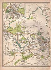 1935 Lancashire: padiham, ightenhill, Rose Grove, Burnley West