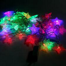4.5M LED Stern Lichterkette Strip Streifen Lichterschlauch Star Partylichterkett