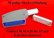 50 pol Steckverbinder Elektronik & Messtechnik Stecker, Schalter & Kabel Busines