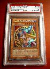 2003 YU-GI-OH! MFC #000 Dark Magician Girl MAGICIAN FORCE Gaming Card ~ PSA 9