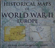 HISTORICAL MAPS OF WORLD WAR II – EUROPE