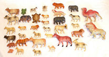 VINTAGE CELLULOID ANIMALS LOT OF 36