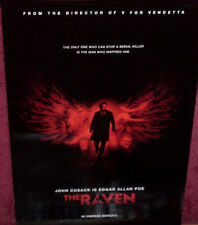 Cinema Poster: RAVEN, THE 2012 (One Sheet) John Cusack Alice Eve Luke Evans