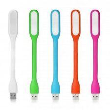 Laptop USB LED Luz de Lectura Flexible de Silicona Teclado Mac PC Portátil Camping