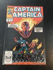 Captain America#356 Incredible Condition 9.0(1989) Teenage Captain America!!
