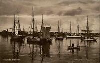 Höganäs Sweden Sverige ~1910 Hamnen Hafen Port Hoffotograf P. Lundh ungelaufen