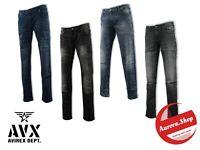 jeans AVIREX denim 4 colori UOMO cotone elasticizzato SLIM FIT 5 tasche