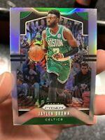 2019-20 Panini Prizm Jaylen Brown Silver #40 Boston Celtics