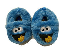 Infant Slippers Shoes Blue Cookie Monster Baby