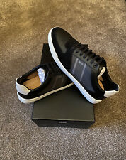 Hugo Boss Mens Trainers , Black Uk size 10 RRP £179 Brand New In Box