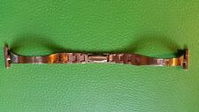 BRACELET MONTRE  /// watch bands / métal doré poinçonné 16MM  / ref: JR170