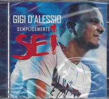 CD ♫ Compact disc **GIGI D'ALESSIO ♦ SEMPLICEMENTE SEI** nuovo sigillato