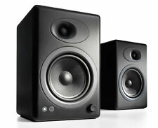 Audioengine A5+ Premium Powered Speakers Black Pair - Free Shipping - NEW