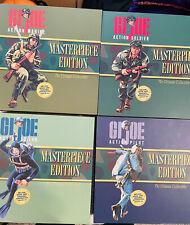 GI Joe Masterpiece Edition Marine, Soldier, Sailor, Pilot - Autographed MINT ?