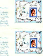 Isle of Man- FDC 1982 - Princess Diane 21st Birthday Stamped Envelope