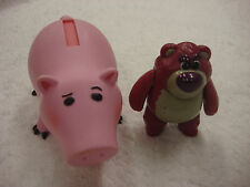 Disney TOY STORY figurine PVC lot Hamm Pig & Lotso Huggin Bear Fisher-Price
