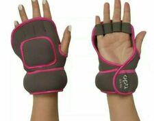 Opti glove weights pink/grey 2 x 0.5kg great work out exercise gym-free p&p