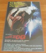 THE FOG photo 17x11 Signed by JOHN CARPENTER during PHILADELPHIA CONVENTION 2010