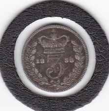 1838   Queen  Victoria  Threepence  (3d)  Silver (92.5%) Coin