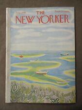 Vintage New Yorker Magazine August 7 1965 - Ilonka Karasz cover art