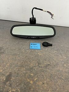 2000-2003 JAGUAR XJ8 XJR OEM Rear View Mirror 8-Wire Auto Dim Rain Sensor #800