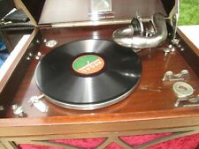 His Masters Voice table top Gramophone model 104