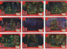 Robots The Movie Complete Rusties To The Rescue Chase Card Set RR1-9