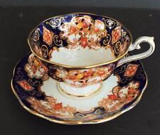 Vintage ROYAL ALBERT Bone China England Crown Stamp HEIRLOOM Set Cup & Saucer