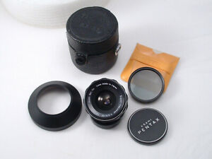 COLLECTIBLE!! 35mm f/3.5 Super Takumar M42 Pentax Lens - BUNDLE!