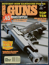 Magazine *GUNS* May, 1992 ! MARLIN Model 2000 RIFLE ! *COLT Model 1991A1 PISTOL*